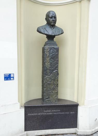 Jurgutis Vladas prie LB